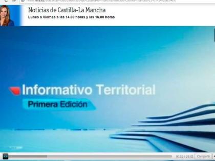 Reportatge de La Perruca de Luca en les notícies de Castella La Manxa de RTVE