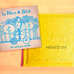 Luca viatja a Mèxic.