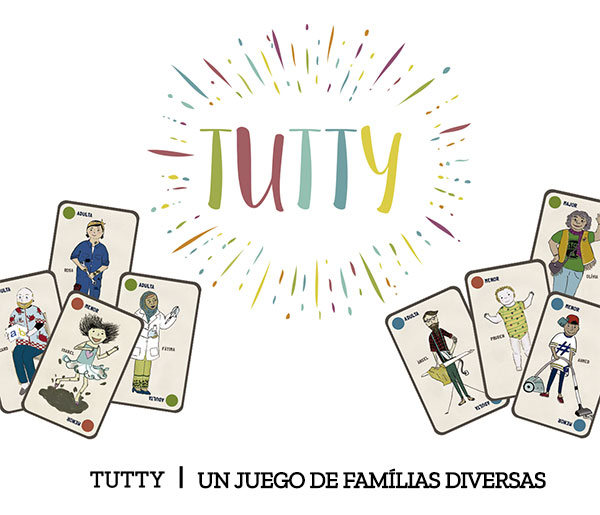 Tutty. un juego de familias diversas
